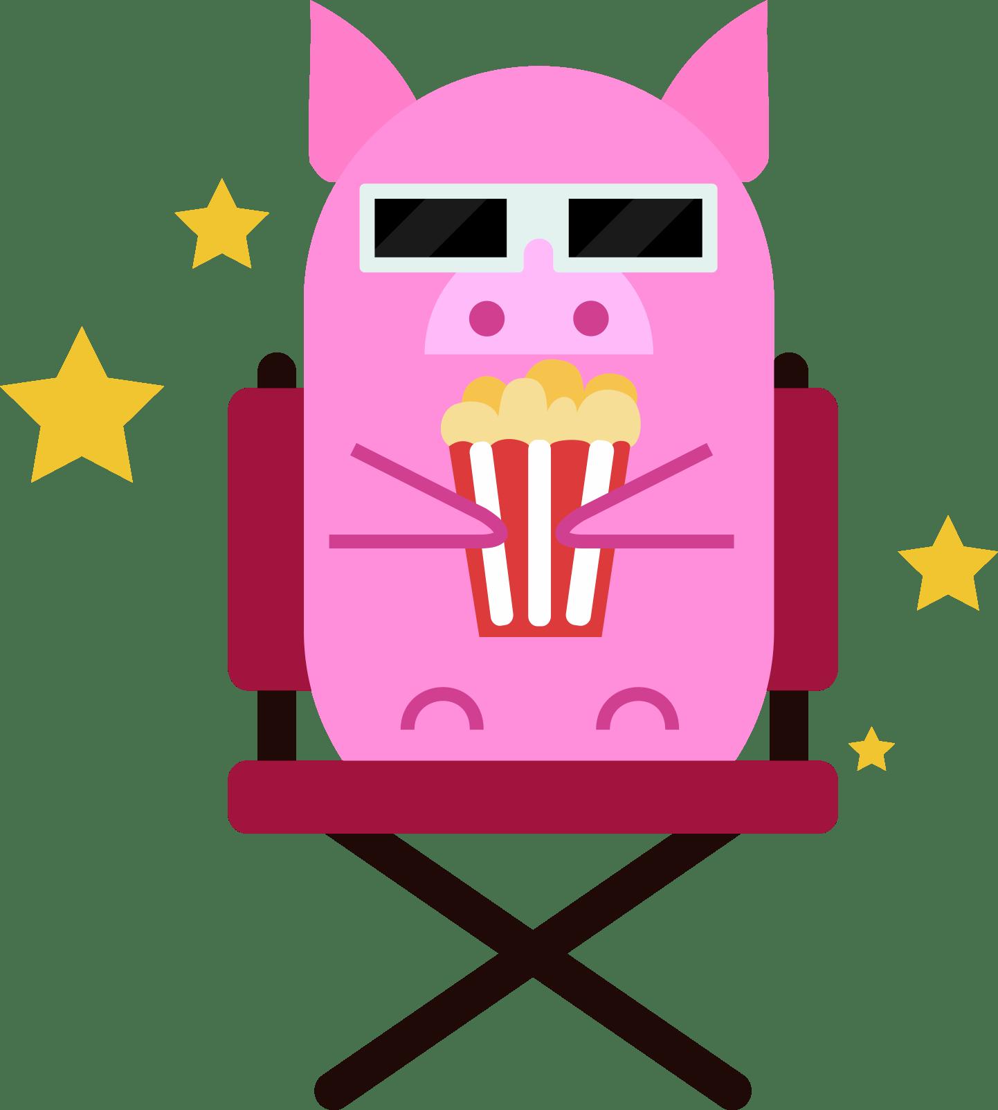 Pigor Produções mascote