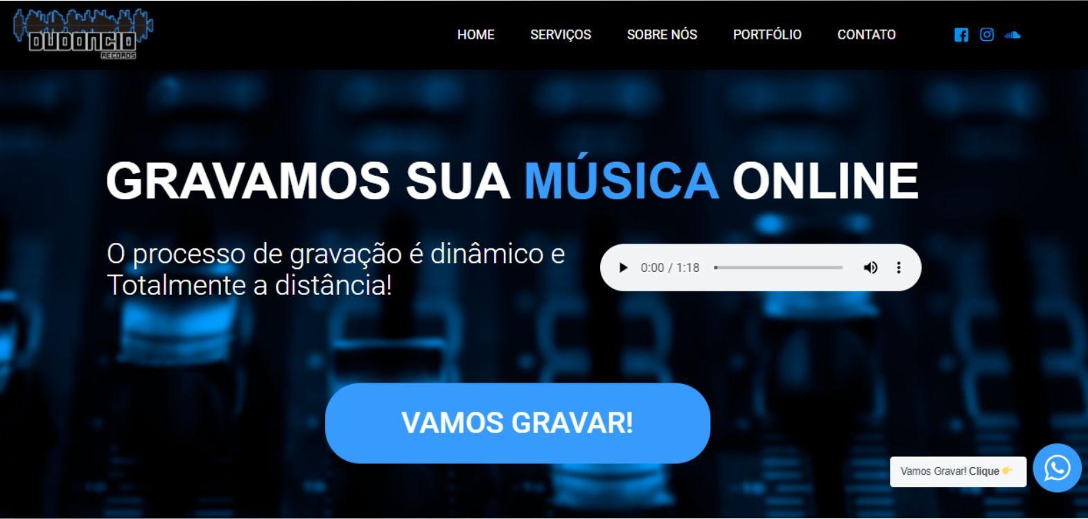 Site da Dudoncio Records